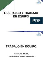 Liderazgo y Trabajo en Equipo 2013