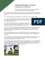 Updates 2014 Planet Holstein - Tuesday 9-1-14