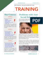 asb newsletter 1 - oct 2014
