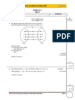 SPM 2014 Add Math Modul SBP Super Score [Lemah] K1 Set 1 Dan Skema