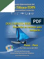 Libro Resumen II Simposio LT 2013