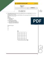 SPM 2014 Add Math Modul SBP Super Score [Lemah] K1 Set 4 Dan Skema
