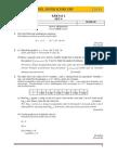 SPM 2014 Add Math Modul SBP Super Score [Lemah] K2 Set 4 Dan Skema