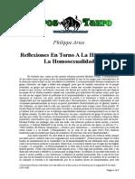 Aries Philippe - Reflexiones en Torno a La Historia de La Homosexualidad