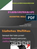Farmakoterapi, Diabetes