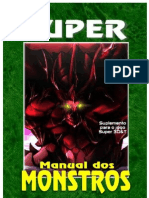 3D&T Super Manual Dos Monstros