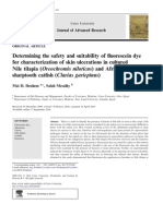 Determining the Safety and Suitability of Fluorescein Dye
