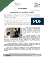 28 de septiembre de 2014 CONMEMORA SSO DÍA MUNDIAL DEL CORAZÓN