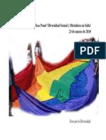 Foro Por La Diversidad Diversidad Sexual y Dictadura 2004 Argentina