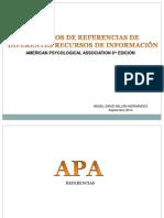 Referencias APA 2014