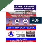 Afiche Alianza Para El Progreso