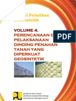 Volume 4_Perencanaan Dan Pelaksanaan Dinding Penahan Tanah Yg Diperkuat Geosintetik