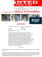 """AK-47 Bandit"" wanted by FBI"