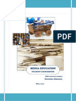 Media Education Course 2012