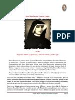 5 ottobre santa maria faustina kovalska