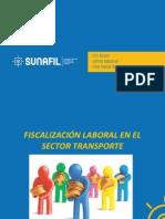 Fiscalización Laboral en El Sector Transporte