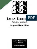 222034177 Jacques Alain Miller Lacan Elucidado Palestras No Brasil