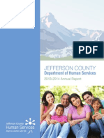 Jefferson County Human Services 2013-2014 Annual Report