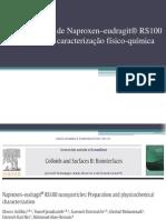 Nanopartículas de Naproxen–eudragit® RS100 .pptx
