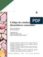 Código de Conducta Para Discutidores Razonables - Eemeren