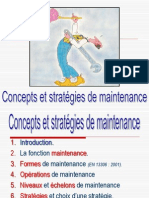 01 - Concepts Et Stratégies de Maintenance