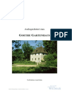 Goethe Gartenhaus Mit Bildern