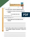Tincuda La Comadrejita Trompuda- Ficha Del Lector