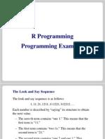 Examples Programming