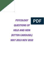 Held and Hein Kitten Carousel