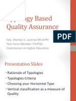 Typology Based Quality Assurance