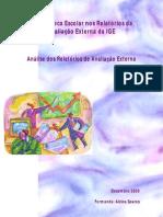 A Biblioteca Escolar nos Relatórios da Avaliação Externa da IGE