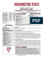 WSU 14FB Game Notes - California