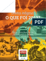 Direitos Indigenas - 2013.