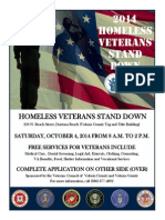 Stand Down Flyer 2014 Volusia Veterans Council