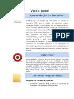 WEB AULA 1- Programacao Em PHP
