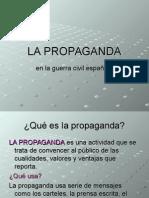 propaganda guerra civil espanola