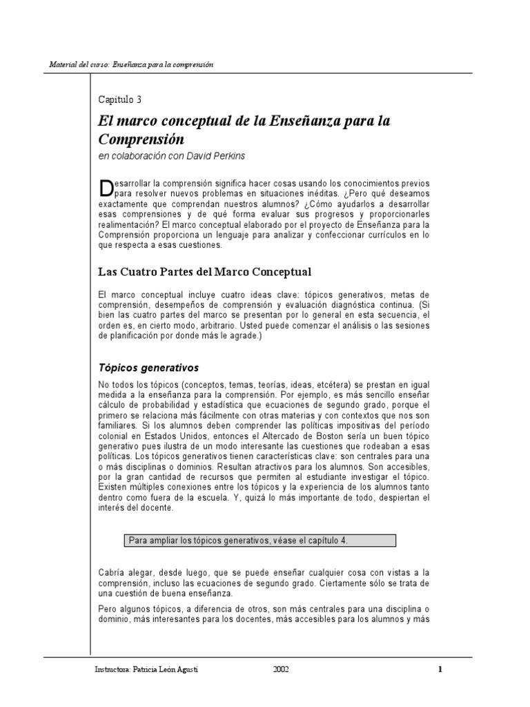 Capitulo 3 El Marco Conceptual de La EpC