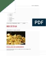 Ensalada de Garbanzo y Pollo