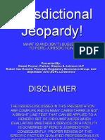 Jurisdictional Jeopardy!