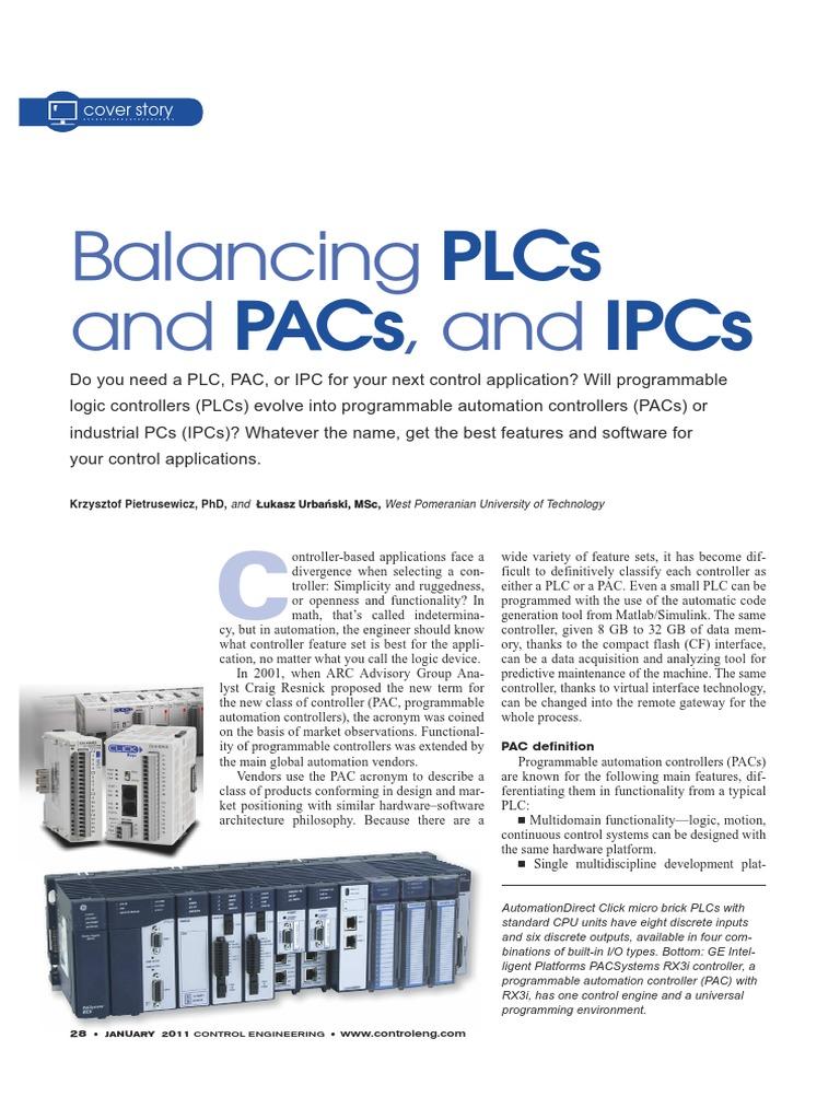 Balancing-PAC-IPC-PLC pdf | Programmable Logic Controller | Field