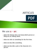 Articles presentation 2