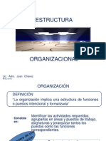 8 ESTRUCTURA ORGANIZACIONAL
