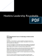 2014 Day One Hawkins Leadership Roundtable Slides