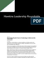 2014 Day One Hawkins Leadership Roundtable Slides