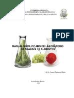 Manual Analisis de Alimentos 2da