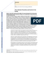 SHEA-APIC Guideline- Infection Prevention and Control in the Long-Term Care Facility