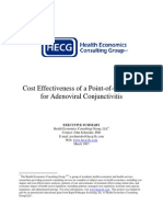 Cost Effectiveness of a Point-Of-care Test for Adenoviral Conjunctivitis
