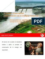 Diapositiva de Conservacion de La Energia