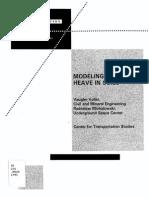 Modeling of Frost Heave in Soils