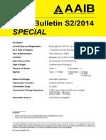 AAIB S2-2014 G-SPAO